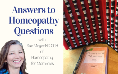 Answers to Homeopathy Questions with Sue Meyer