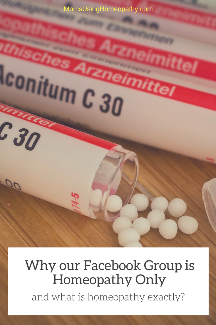 Why the Moms Using Homeopathy Group is Facebook Only - and What is Homeopathy?