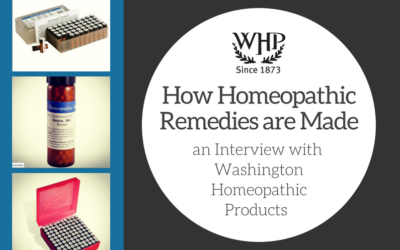 How Homeopathic Remedies are Made: Interview with Washington Homeopathic Products