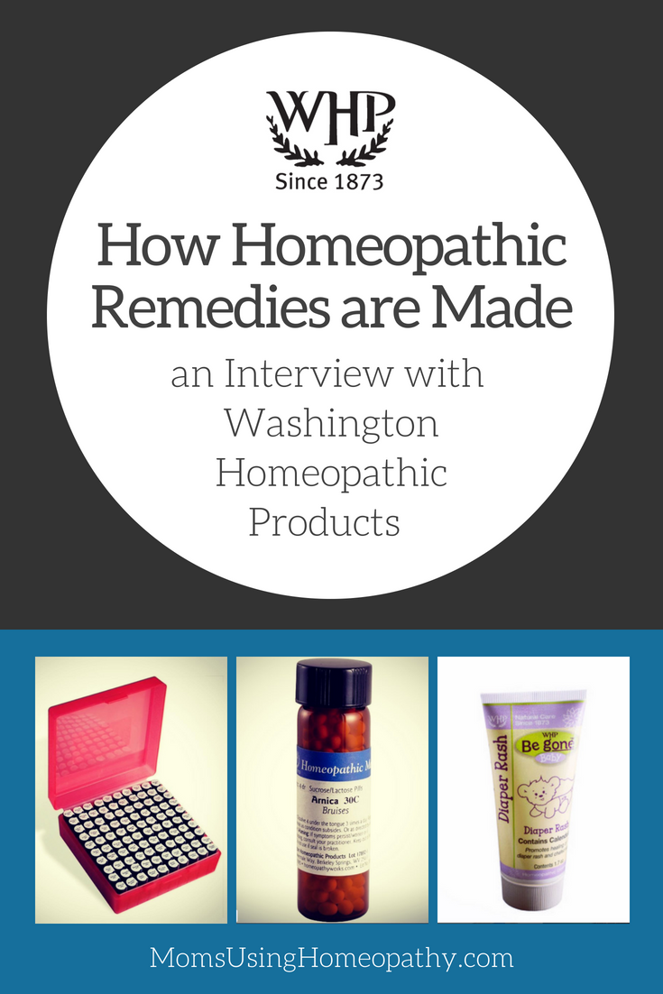 How Homeopathic Remedies are Made - interview with Washington Homeopathic Products on Moms Using Homeopathy Podcast
